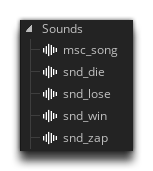 Sound Resources In The Resource Tree