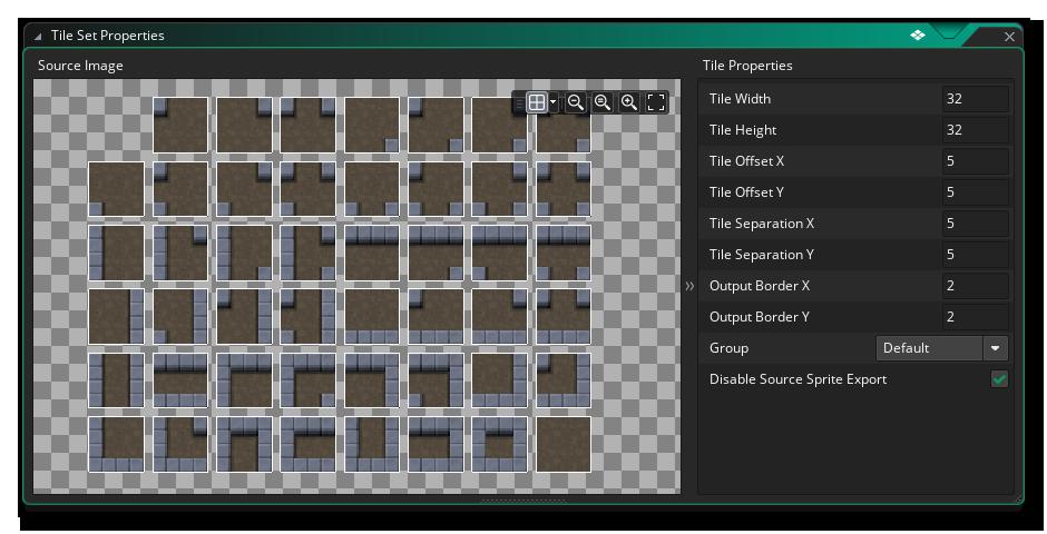 Wall Tile Set Example