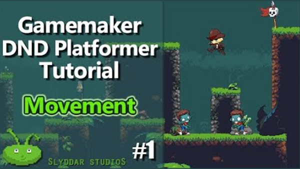 GameMaker DnD Platformer