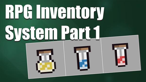 RPG Inventory System
