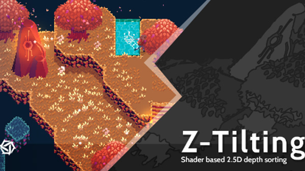 Z-Tilting: Shader Based 2.5D Depth Sorting