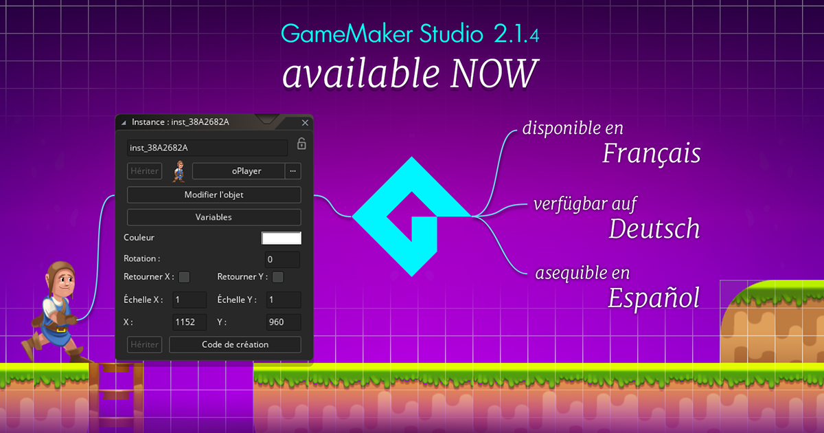 Localisation And More With GameMaker Studio 2.1.4